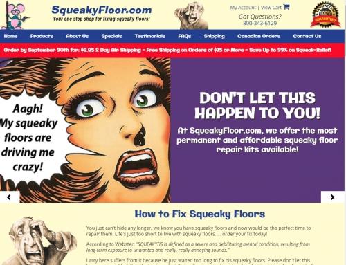 SqueakyFloor.com