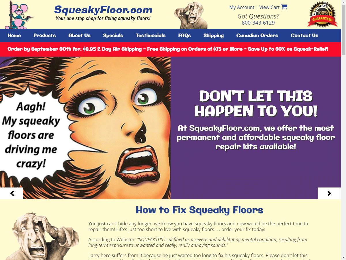Squeaky Floor 1