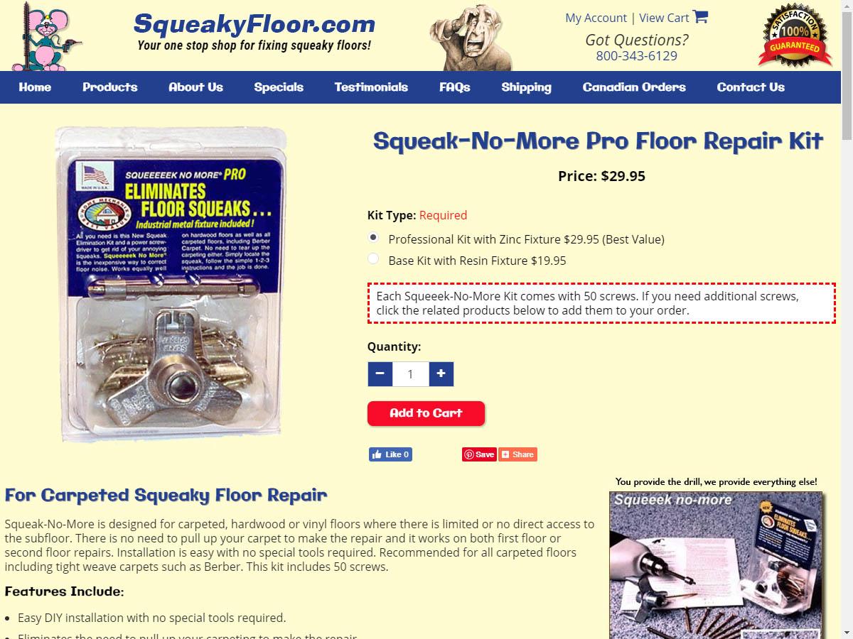 Squeaky Floor 3